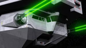 Imperial Light Carrier - Bridge