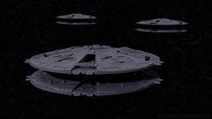 Cylon Basestars