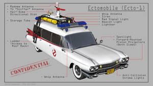 Ghostbusters Ectomobile - Callouts