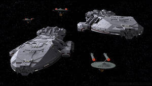 United Front - Galactica, Pegasus, and Starfleet