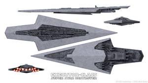 Super Star Destroyer - Executor-class - Schematics