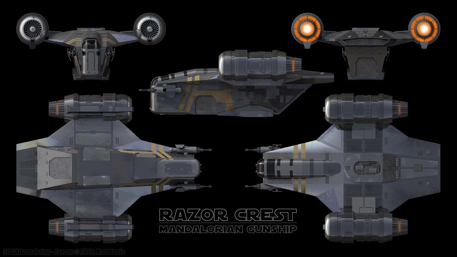 Razor Crest +Build tutorial Minecraft Map