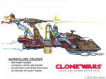 Star Wars Toy - Vehicle Concept Sketch