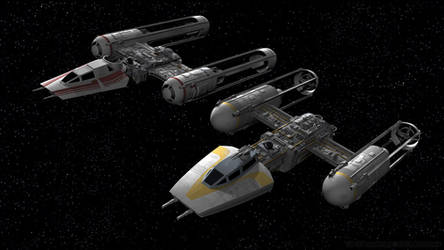 Y-Wing Legacy - New and Old