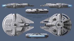 YT-1300 Quantum Destiny II - Schematics