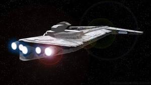 Onager-class Star Destroyer - Aft