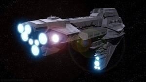 Starhawk-class Battleship - Aft