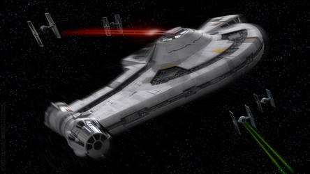 YT-2400 Outrider Outnumbered