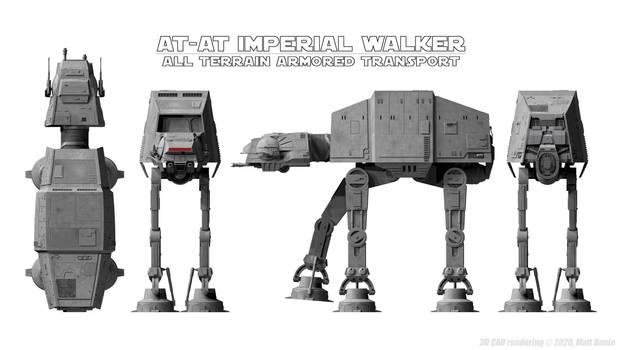 AT-AT Imperial Walker Schematics