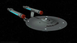 U.S.S. Constitution Approaches
