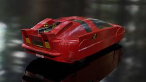 Robin's Redbird Car - Rear View