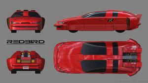 Robin's Batmobile - The Redbird - Schematics
