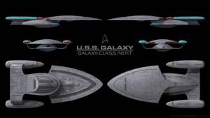 Galaxy-Class Refit - Schematics