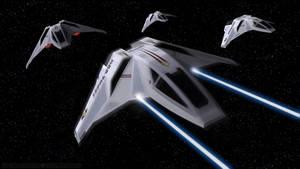 Star Trek - Valkyrie Fighters Attack