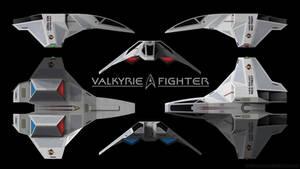Star Trek - Valkyrie Starfighter - Schematics