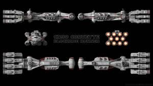 CR90 Corvette - Rebel Blockade Runner - Schematics