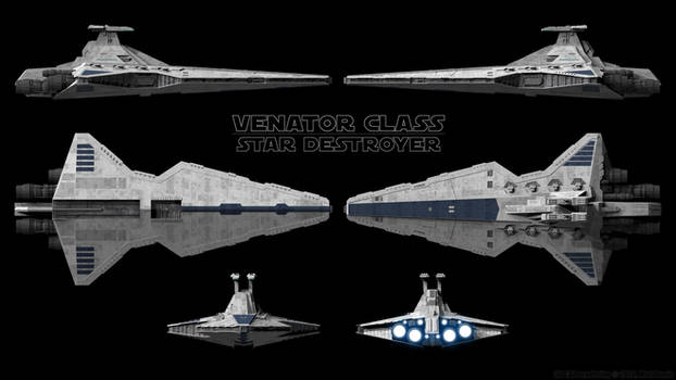 Venator Schematics - Blue