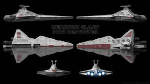 Venator-Class Star Destroyer - Schematics