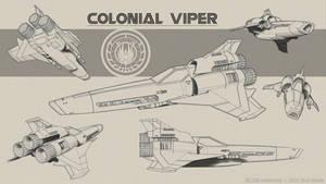Mk II Viper Sketches