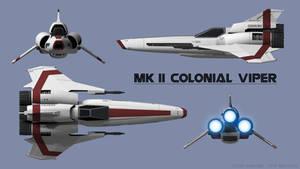 Mk II Colonial Viper Schematics