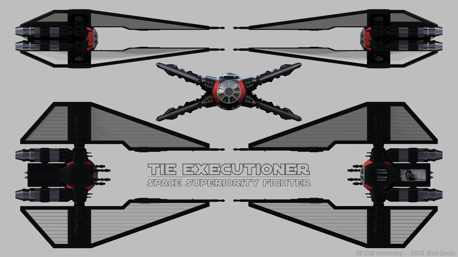 Tie X Tie Executioner Schematics By Ravendeviant On Deviantart