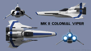 Mk II Viper - Blue Squadron
