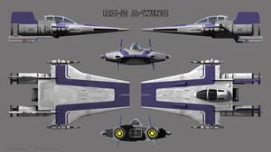 A-Wing RZ-2 - Purple Squadron