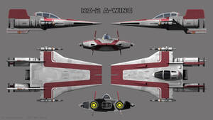 A-Wing RZ-2 - Red Squadron