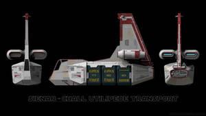 Sienar-Chall Utilipede Transport - Schematics