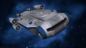 Intersystem Transport Ship - Galaxy's Edge