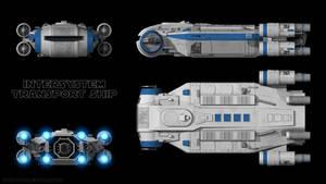 Intersystem Transport Ship - Schematics