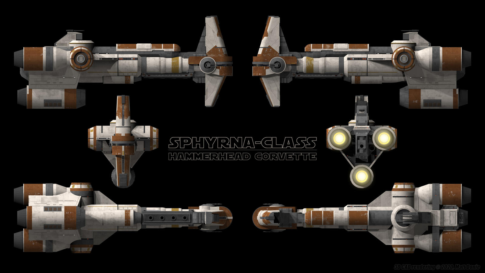 Sphyrna Class Hammerhead Schematic By Ravendeviant On Deviantart