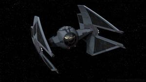 TIE/ba Interceptor - Gray