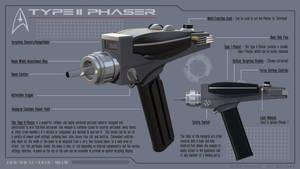 Star Trek - Type 2 Phaser - Callouts