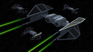 Imperial TIE Bombers in Action