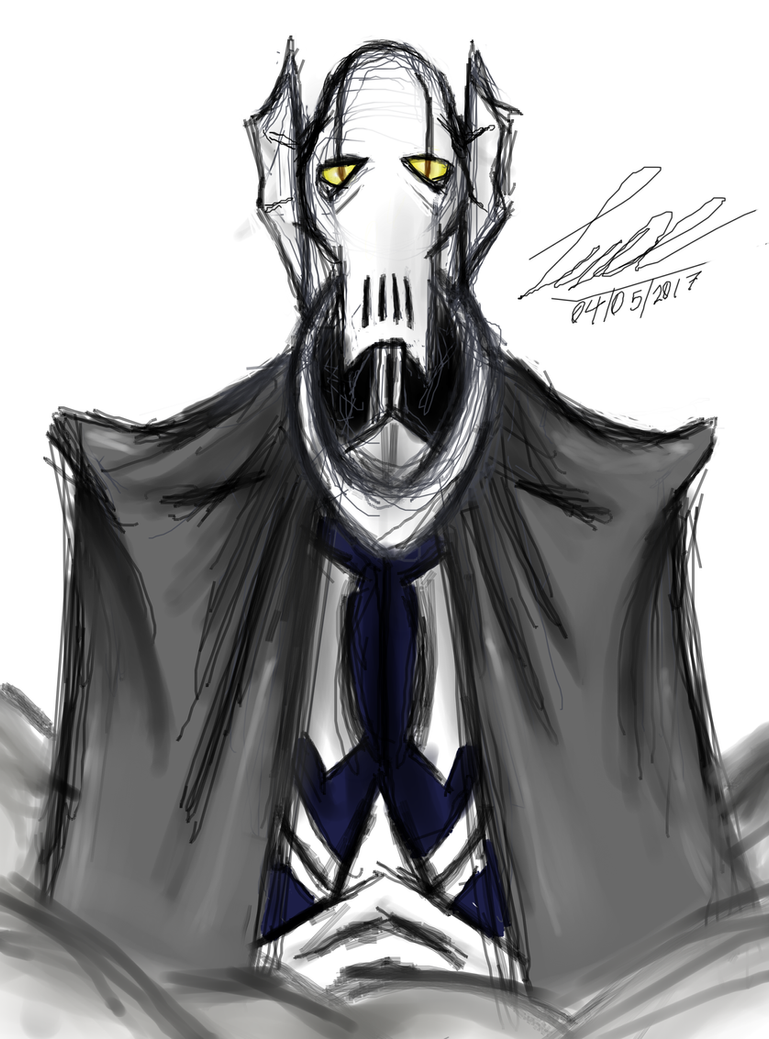 general grievous for the star wars day C: by MAXicano