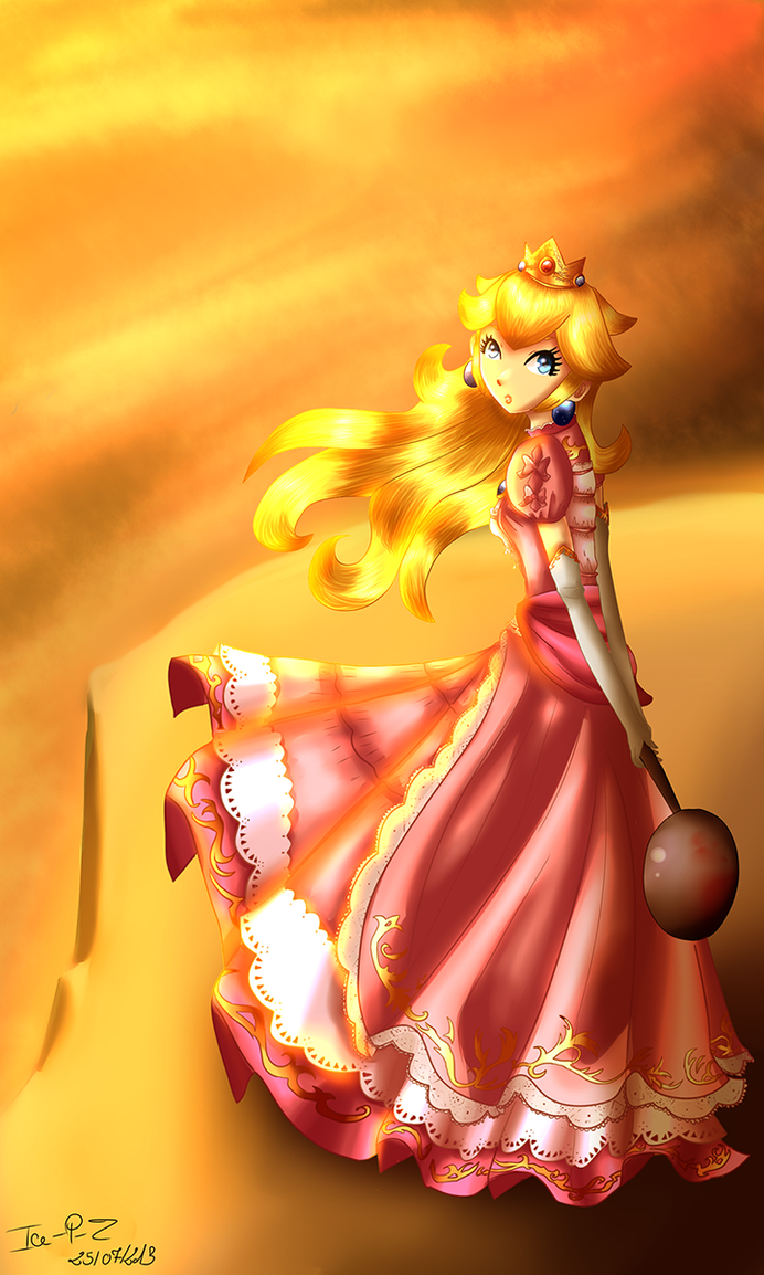 Princess Peach by Ice-P-Z