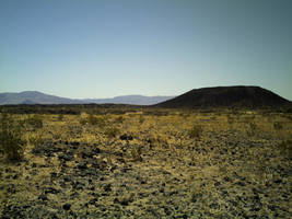 Stock: Desert Volcano by Faerie-Eolande