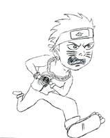 Fan Art Naruto Running