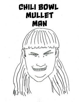 Fan Art: Chili Bowl Mullet Man