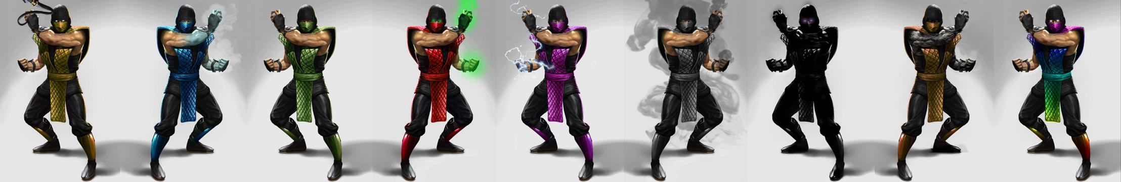 Klassic Mortal Kombat Ninjas by JustMcCollum