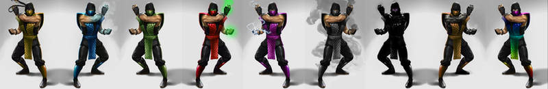 Klassic Mortal Kombat Ninjas