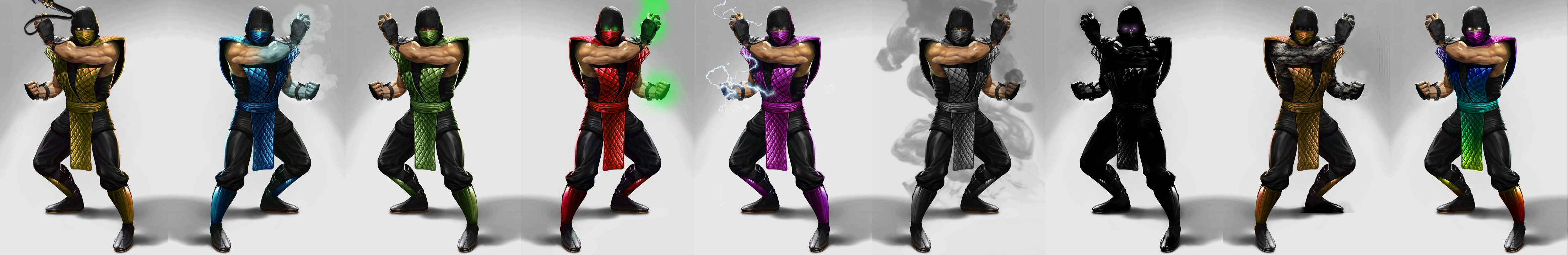 MORTAL KOMBAT 9 - ALL NINJAS&#39- X-Rays, Fatalities and Babalities ...