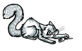 Free Kitty playing Pose by MooiLeven