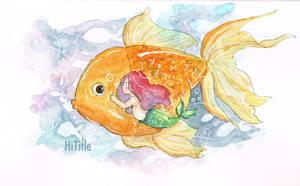 My Pet Goldfish  by hititle