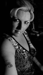 Monochrome Lady 5 by Inthename-Stock