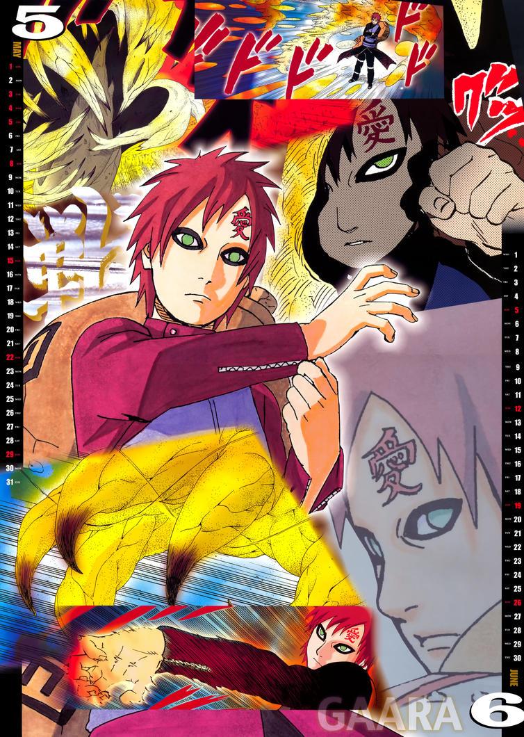 Deviantart Calendar : Naruto battle calendar by zkrxita on deviantart