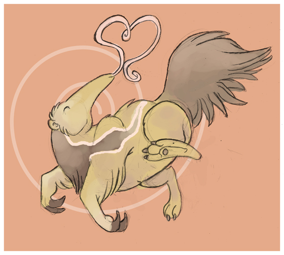 Anteater Luv by gryen