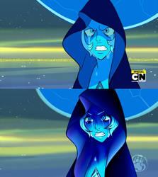 Re-draw: Blue diamond by shina1319