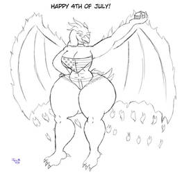 4th of July Pic by Tyrian-Omega